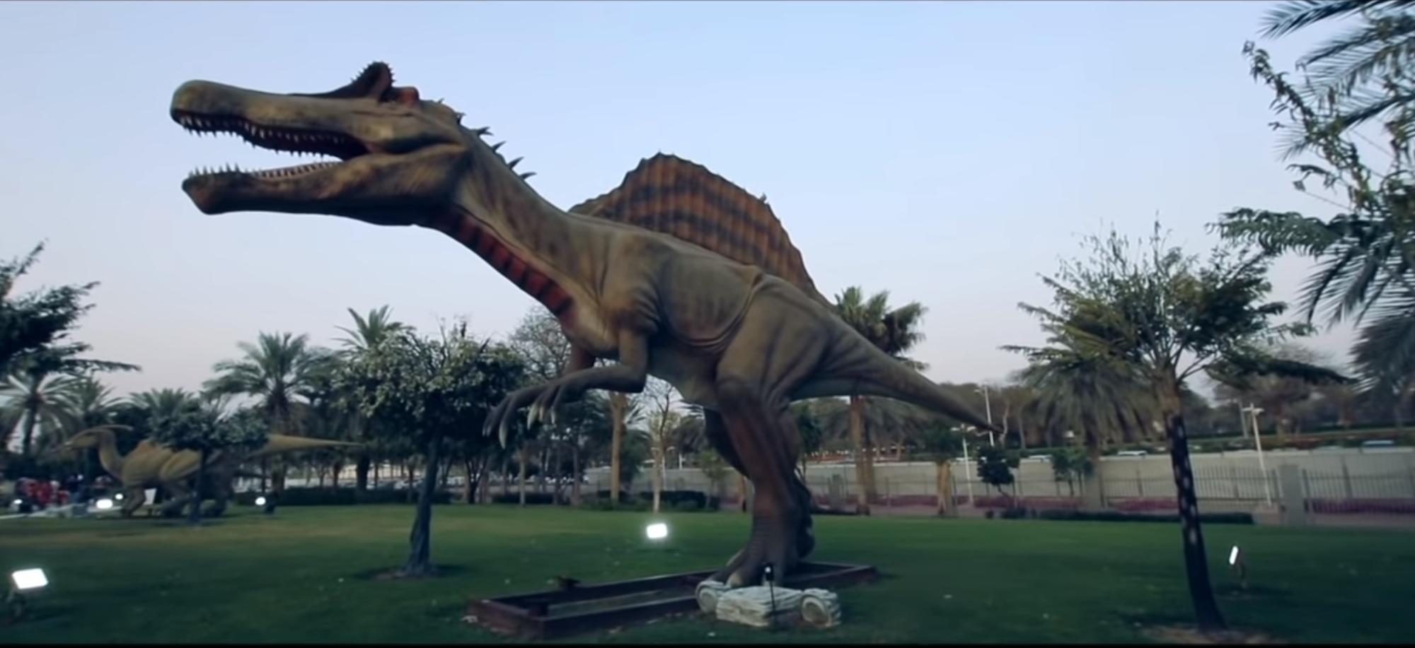 dubai animatronic dinosaur